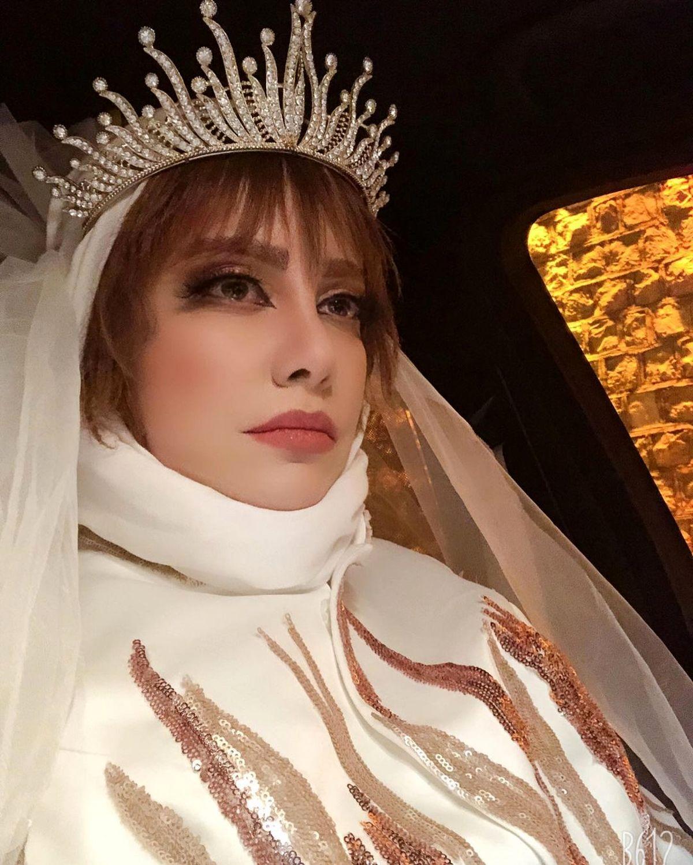 شراره رخام عروس شد+عکس