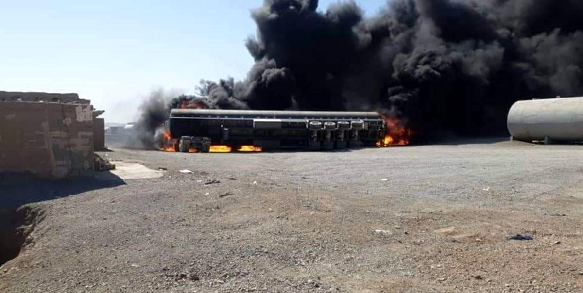 مهار آتشسوزی در مرز مشترک افغانستان و ایران