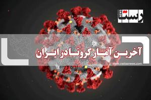 آخرین آمار کرونا ایران | امروز 16 مهر 1400