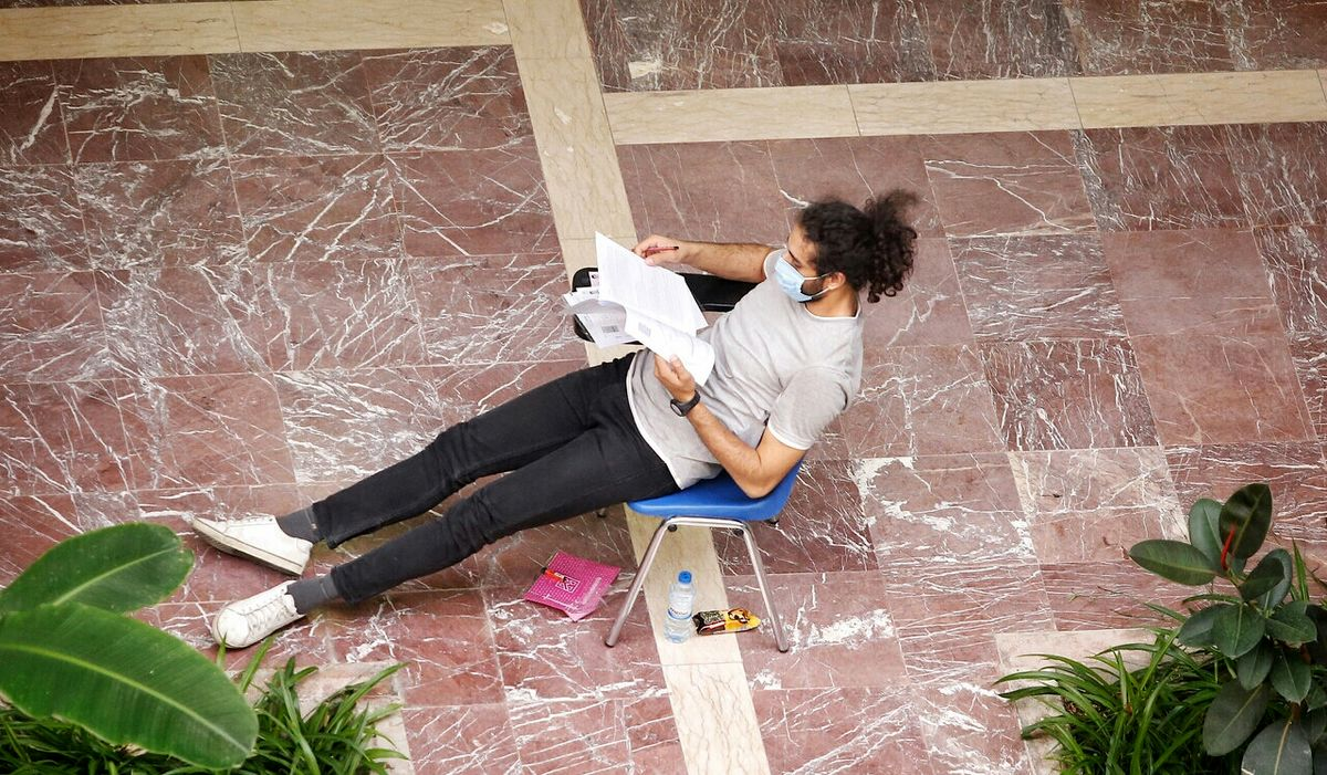 مدل موی عجیب داوطلبان کنکور سراسری ۱۴۰۰