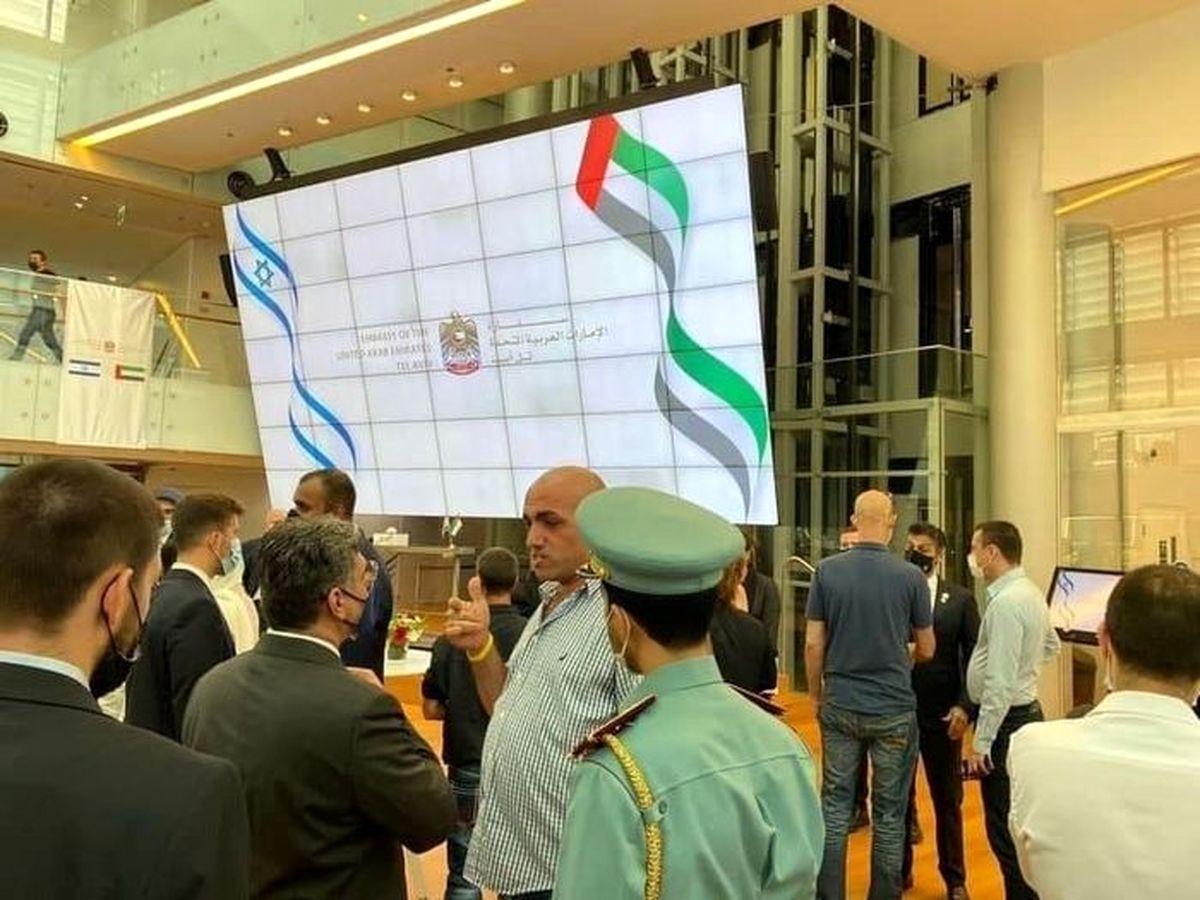 فوری   امارات در تل آویو سفارت خود را افتتاح کرد