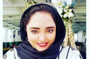 عکس بدون آرایش نرگس محمدی